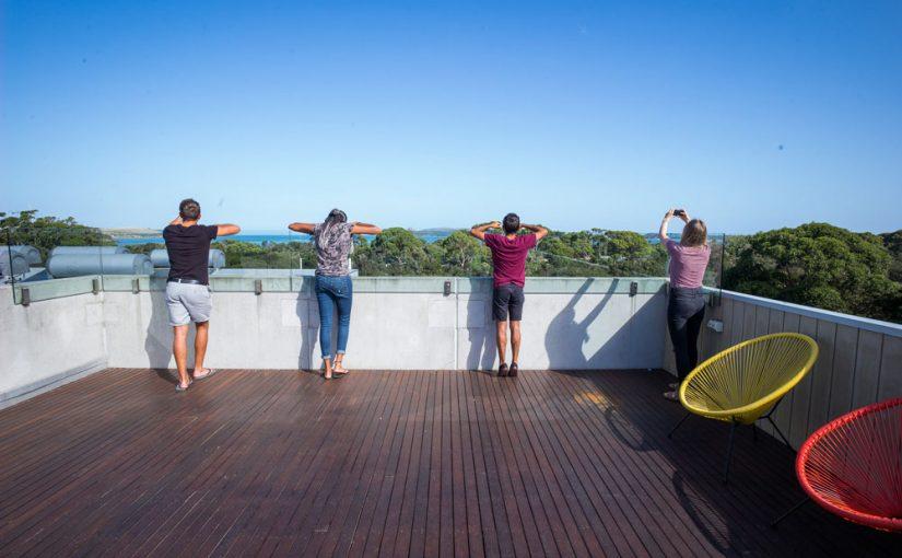 Roof Top water views