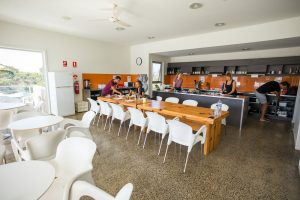 Kitchen, Dining, Deck